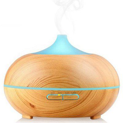 High Safety wooden Ultrasonic Cool Mist 7 Color Changing Timer Humidifier Aroma Diffuser