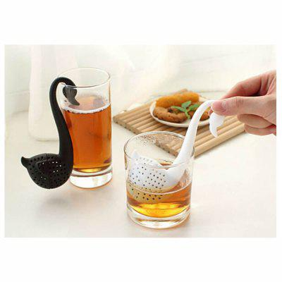 Swan Shaped Teaspoon Tea Infuser Filter Strainer