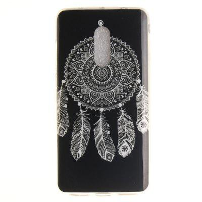 Black Wind Chimes Soft Clear IMD TPU Phone Casing Cobertura de Smartphone móvel Capa Shell para Xiaomi Redmi Note 4X