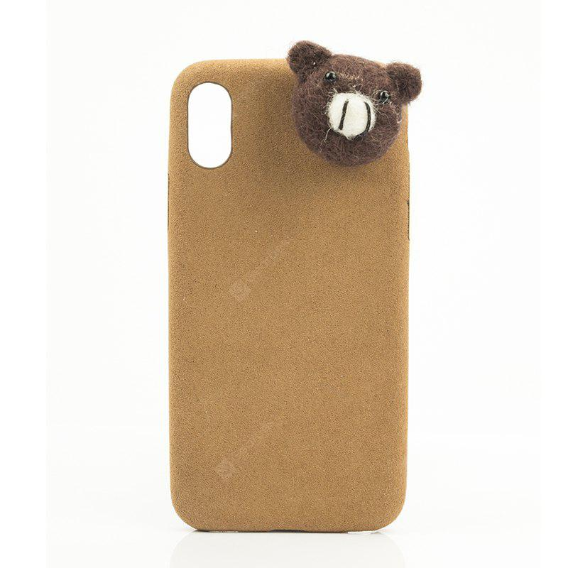 Adequado para iphone X Brown Bear Phone Case