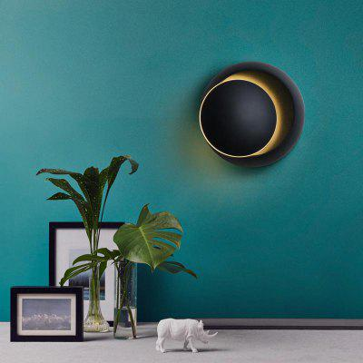 Modern Style 360 Degree Can Adjust The Wall Lamp Black Aluminum  for Living Dining Room Bedrooms