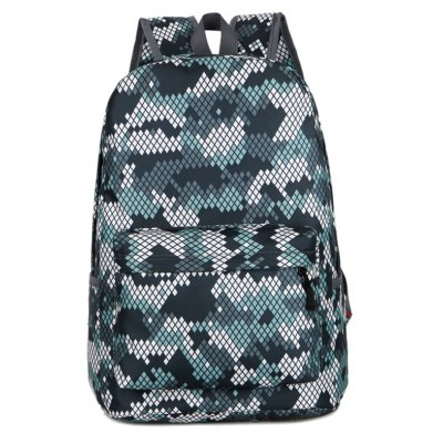 Moda Hongjing a juego Color Casual Sporting Backpack