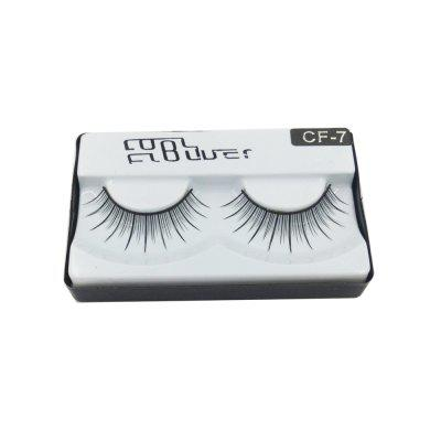 Natural false eyelash long black independent packing