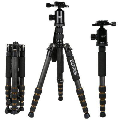 Zomei Z699C Professional 60inch Compact Advanced Carbon Fiber Travel Camera Tripod