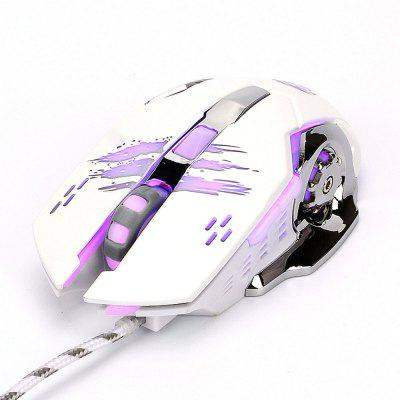 X7 Macro Mefinition Gaming Game Mouse