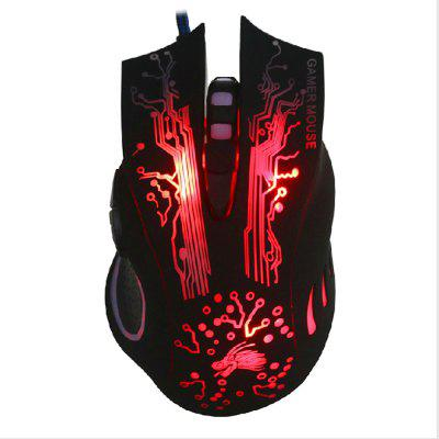V3 USB Computer Optoelectronic Wired Game Mouse