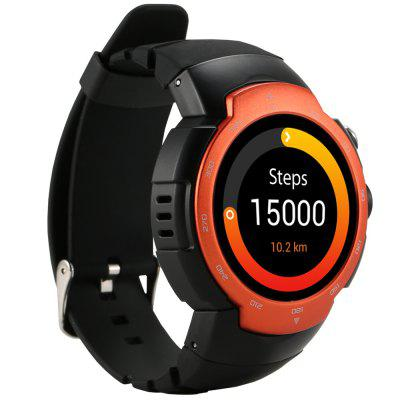 Z9 MTK6580 Quad Core 1.33 Inch Smartwatch IP67 Waterproof Pedometer Heartrate Monitor GPS for Android 5.1