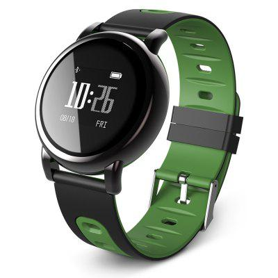 B8 OLED Bluetooth 4.0 Blood Pressure Oxygen Measure PPG Heart Rate Monitor Smart Watch for Android IOS