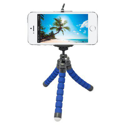Mini Flexible Sponge Octopus Tripod for iPhone Samsung Xiaomi Huawei Mobile Phone Smartphone