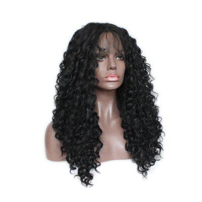 European and American Popular African Koji Black and Black Chemical Fiber Wig