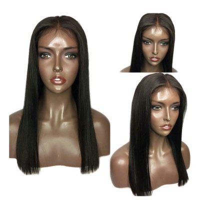 Long Center Part Natural Straight Synthetic Hair Lace Front Wigs 2016 women synthetic hair wigs long