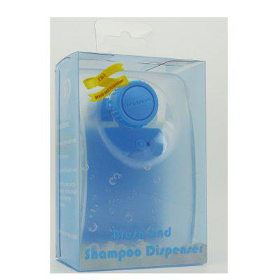 7818-Brush and Shampoo Dispenser