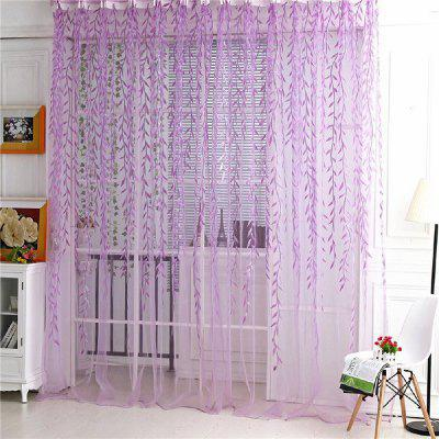 Plucking Purple Wicker Window 1pc