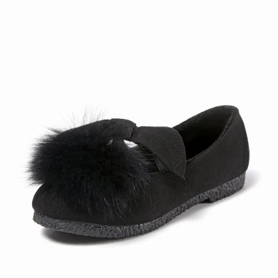 Winter Girls Flats Shoes With Cotton Kids
