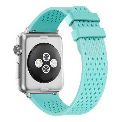 Band for Apple Watch 38mm New Design  Soft Silicone Sport Strap Band for  iWatch Apply to Apple watch 1/2/3 Generation