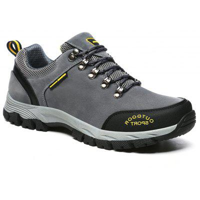 Outdoor Mountaineering Shoes Men'S Hiking and Climbing Sneakers
