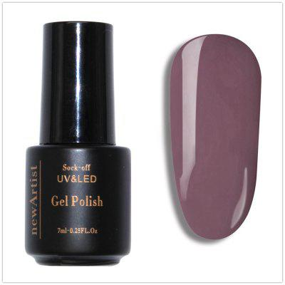 NewArtist Pure Color UV LED Nail Gel Polish Cappuccino Series 30S Fast Drying Long Lasting Sock Off 7Ml