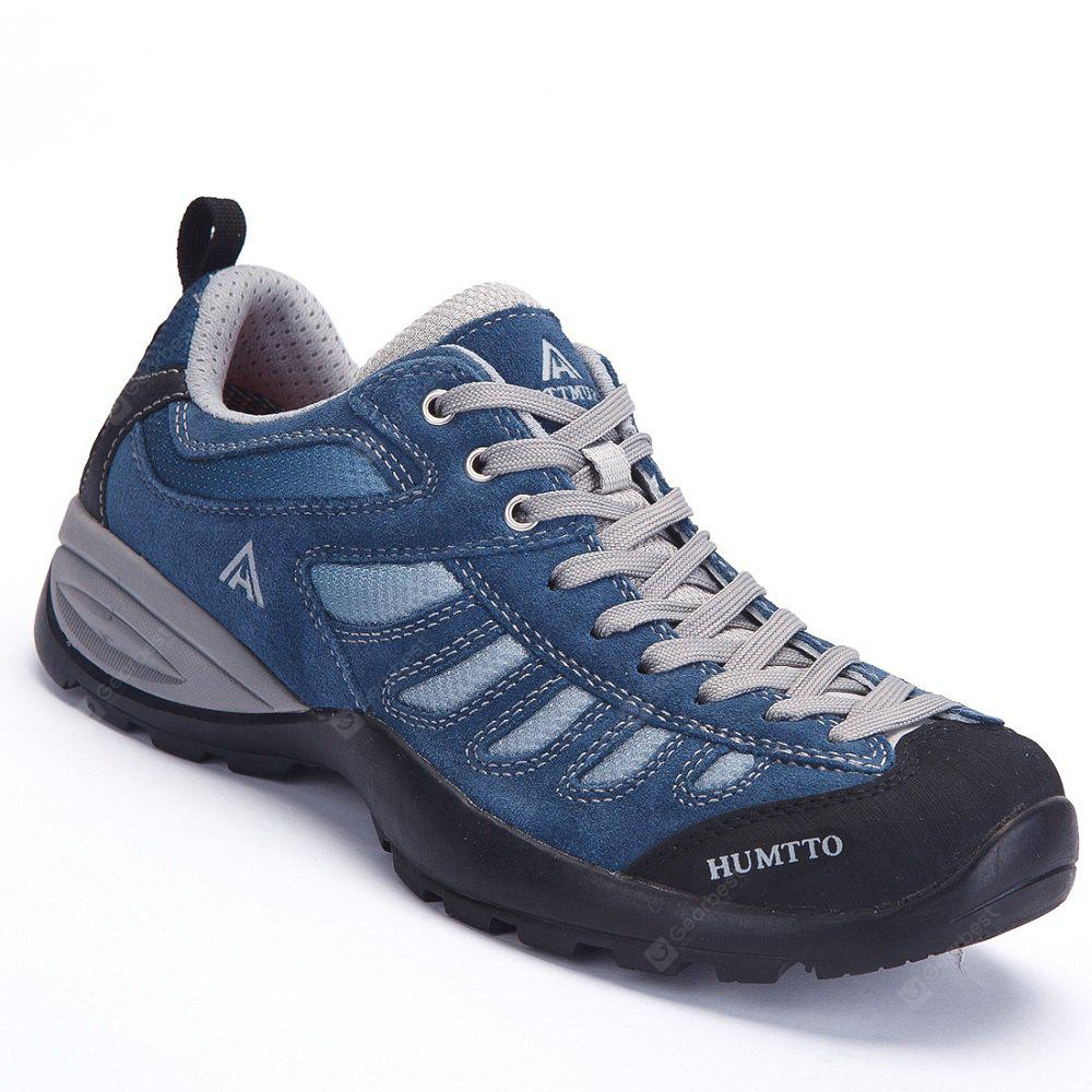 HUMTTO Men's Walking Shoes Trekking Shoes Non-slip Anti-fur Rubber Sneaker