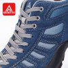 HUMTTO Men's Walking Shoes Trekking Shoes Non-slip Anti-fur Rubber Sneaker - BLUE