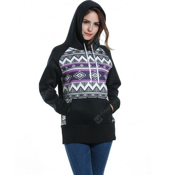 A Hooded Printed T-shirt