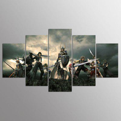 YSDAFEN 5 штук Home Wall Decor Canvas Picture Art