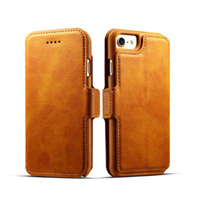 Premium Cow Texture Leather Magnetic 2 in 1 Wallet Case for iPhone 6 Plus / 6s Plus