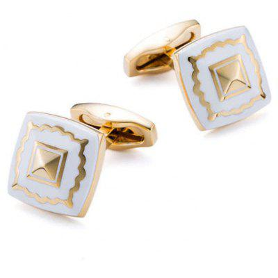 Men's Cufflinks Creative Design Faddish Fine Cuff Buttons Accessory