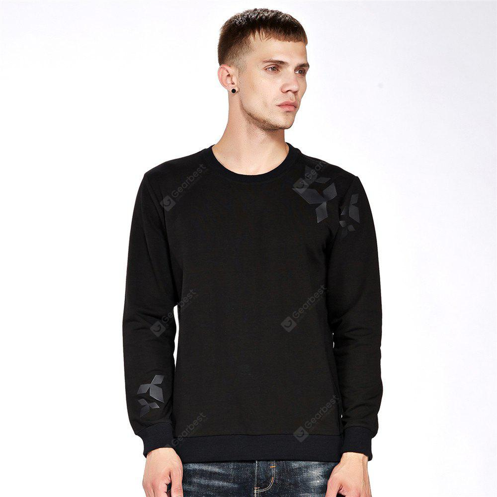 Men's Sweatshirt Casual Print All Match Long Sleeve Sweatshirt