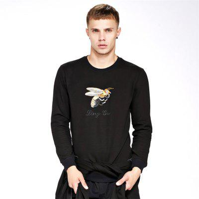 Sweat-shirt pour homme Casual Broderie Chic All Sweat-shirt