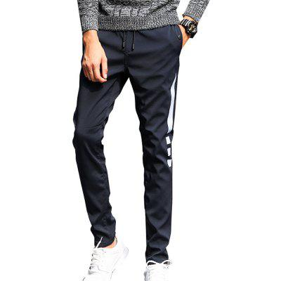 Men's Casual Pants Warm Comfy Fashion Thickened All Match Pants