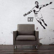 CR7 Football Star Poster Bedroom wall Stickers Dormitory Creative Decorative Wallpaper