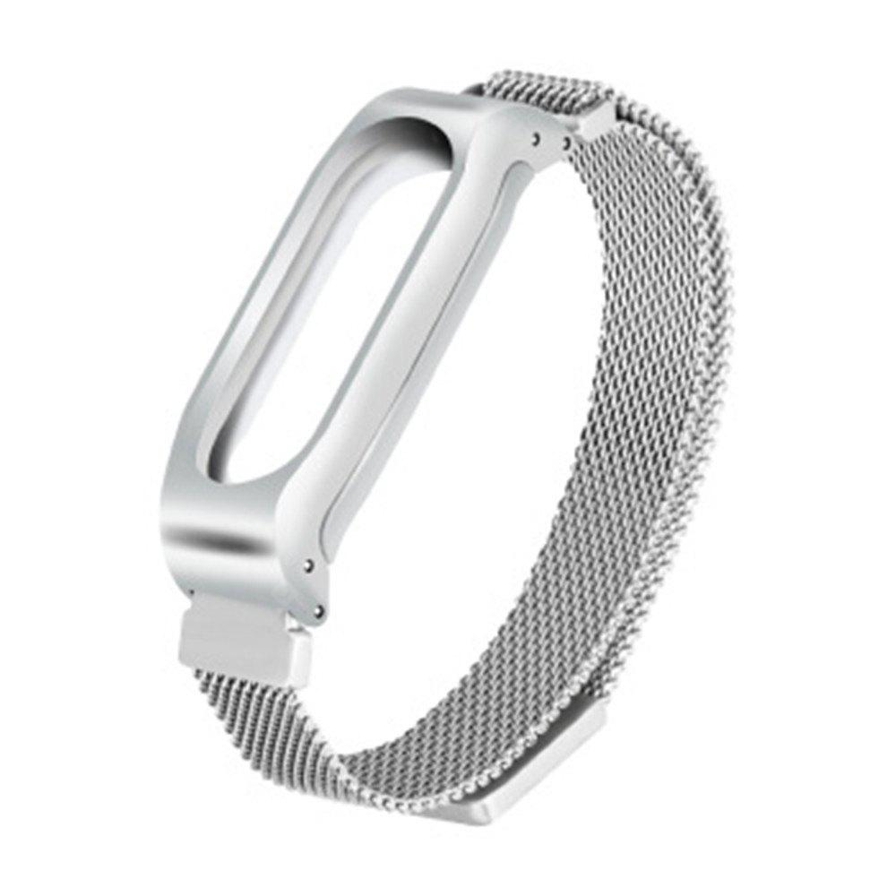Replacement Metal Wrist Band Strap for Xiaomi Mi Band 2 Smart Bracelet