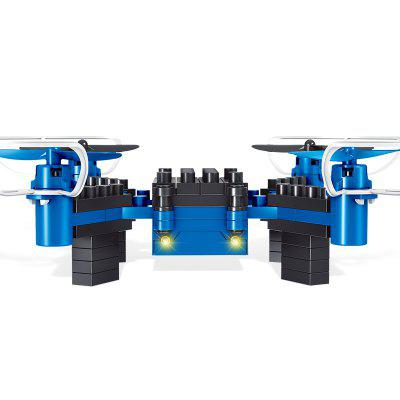 Quadcopter DIY Building Blocks Assembled Drone Mini Remote Control Aircraft