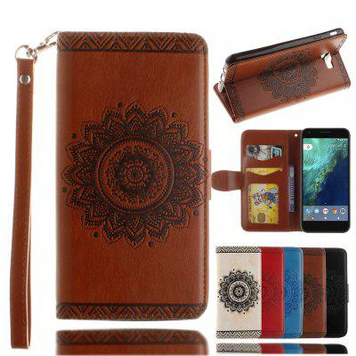 Luxury Retro Mandala Flip Leather Case For Samsung Galaxy J7 Prime /On 7