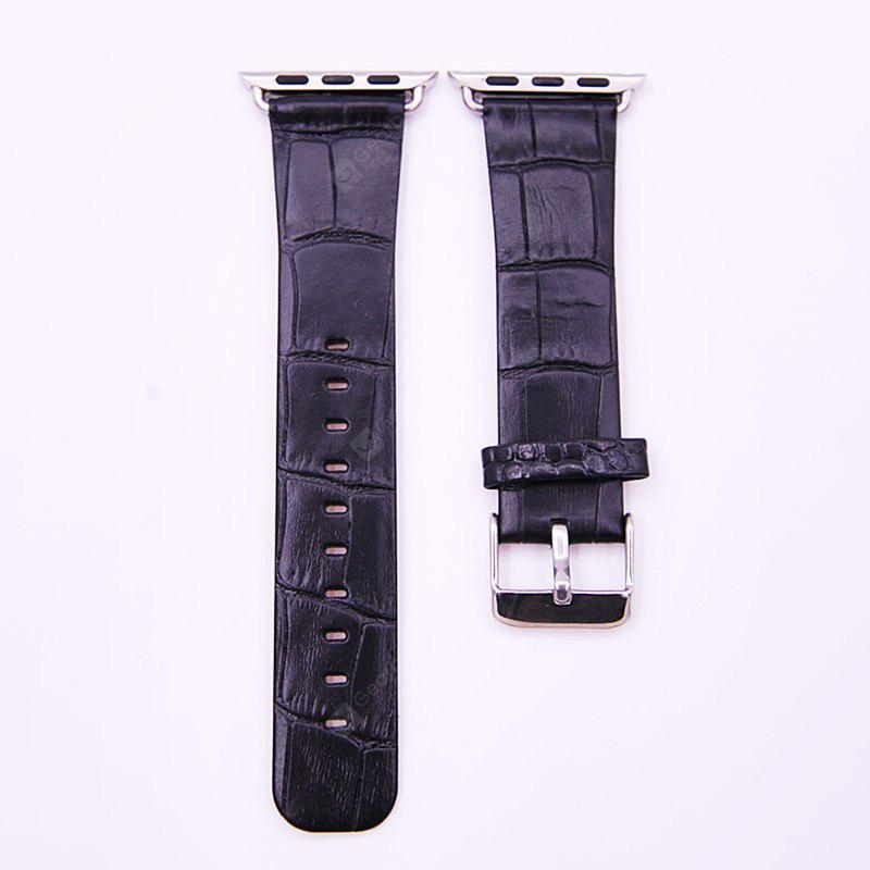 Leather Buckle Wrist Watch Band Strap Belt for iWatch 42mm