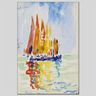 Hua Tuo Sailing Oil Painting 60 x 90CM OSR - 160639