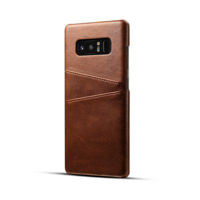 Premium Leather Back Cover for Samsung Galaxy Note 8