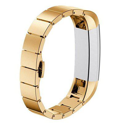 Replacement Luxury Stainless Steel Watch Band Wrist strap for Fitbit Alta HR / Fitbit Alta
