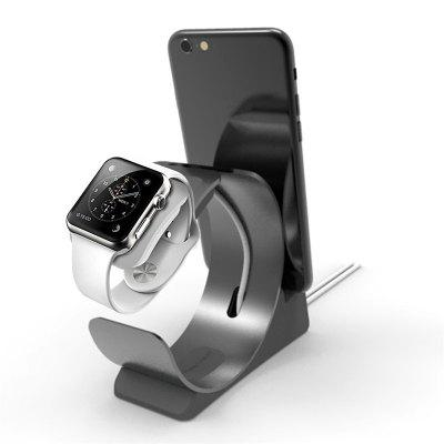Watch Stand Archeer for iWatch/Phone Charging Stand Bracket Docking Station Cradle Holder Aluminum Build Cradle Holds