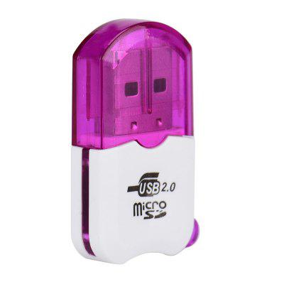 Mini USB 2.0 Micro TF T-Flash Memory Card Reader Adapter