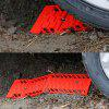 1 Pair Traction Aid Tracks Automobile Antiskid Plate Antislide Plate of Automobile Tire - ORANGE