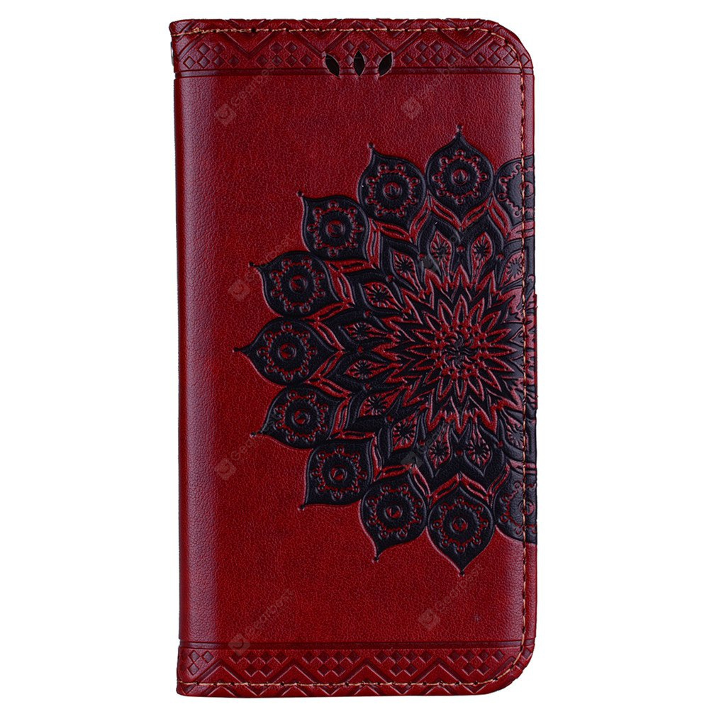 Datura Flowers Flip Phone Case for Samsung Galaxy J3 2017 J330 EU Version Wallet Leather Case Cover Phone Bag with Stand