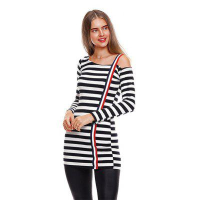 Sexy Stripe Knit T-shirt