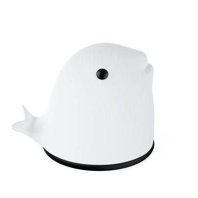 LED Night Light for Kids Soft Dolphin Silicone Baby Nursery Lamp Sensitive Tap Control 7 Single Colors and Multicolor B