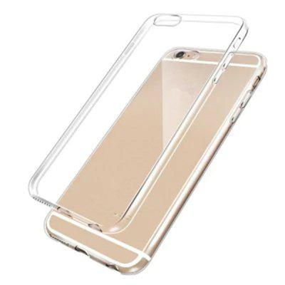 Ultra Thin TPU Soft Transparent Clear Crystal Cover for iPhone 6 / 6s