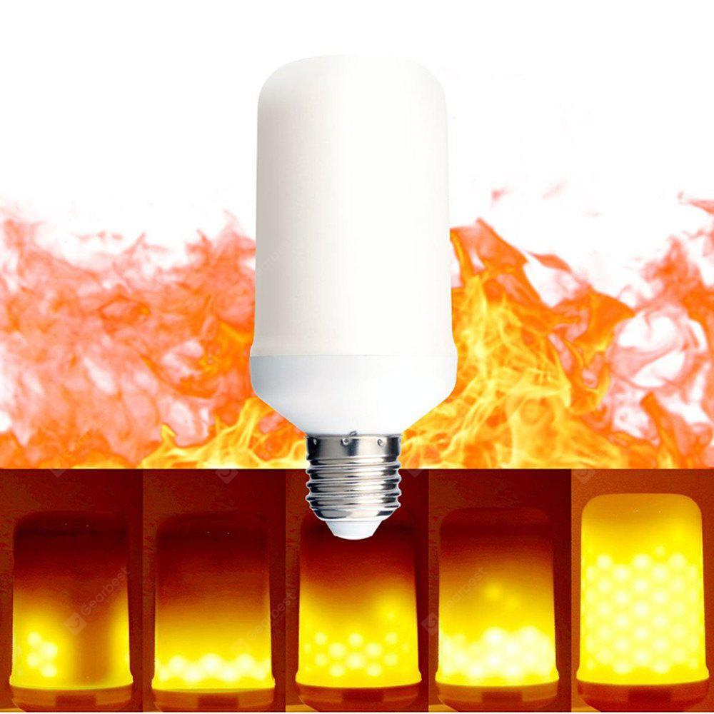 KWB LED Flame Effect Fire Light Bulbs 2 modes Creative with Flickering Emulation Lamp