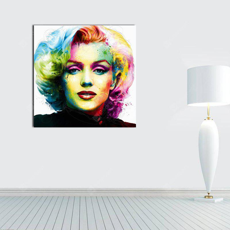 Modern Portrait Canvas Print Frameless Home Wall Decoration