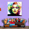 Modern Portrait Canvas Print Frameless Home Wall Decoration - COLORFUL