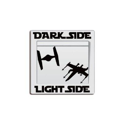DSU Dark Side Switch Sticker Vinyl Wall DecorWall Stickers<br>DSU Dark Side Switch Sticker Vinyl Wall Decor<br><br>Art Style: Plane Wall Stickers, Toilet Stickers<br>Brand: DSU<br>Color Scheme: Black<br>Effect Size (L x W): 6.7 x 8.6 cm<br>Function: Light Switch Stickers, Decorative Wall Sticker<br>Layout Size (L x W): 6.7 x 8.6 cm<br>Material: Vinyl(PVC)<br>Package Contents: 1 x Wall Sticker<br>Package size (L x W x H): 7.00 x 9.00 x 1.00 cm / 2.76 x 3.54 x 0.39 inches<br>Package weight: 0.0200 kg<br>Product size (L x W x H): 6.70 x 8.60 x 0.01 cm / 2.64 x 3.39 x 0 inches<br>Product weight: 0.0100 kg<br>Quantity: 1<br>Subjects: People,Fashion,Vintage,Letter,Leisure,Holiday,Christmas,Famous<br>Suitable Space: Living Room,Bedroom,Office,Hotel,Cafes,Kids Room,Door,Corridor,Kids Room,Boys Room,Girls Room<br>Type: Plane Wall Sticker