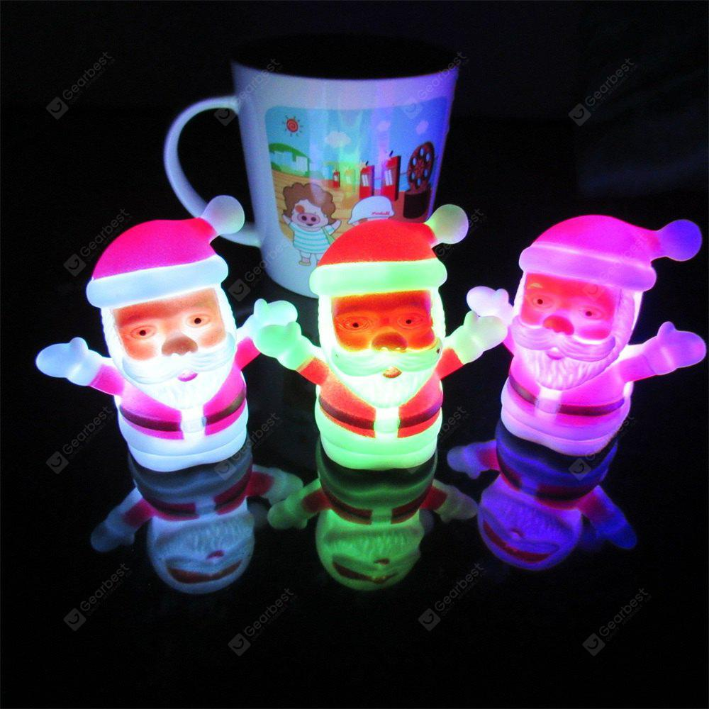 JUEJA Christmas Lamp Light Xmas Gift Mini Table Cute Santa Claus LED Decor Nightlight